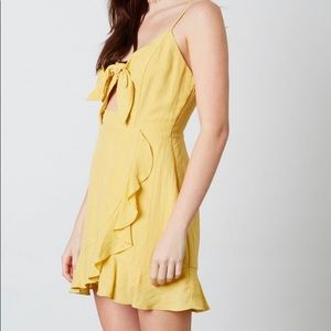 Cotton Candy LA- Lucy dress( yellow)